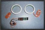 ADJ 286 - 2 x anneaux lumineux de post combustion