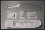 ADJ 583 - Verrière transparente + bacquet ABS