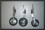 ADJ 125 - Trois roues + freins + 3 jambes (usinés CN)