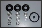 ADJ 740 - Roues + système de freins avec valve mécanique