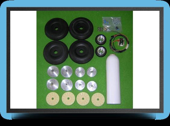 Jets - 6 roues + 4 freins avec Électro valve - 6 roues + 4 freins avec Électro valve - Aviation Design