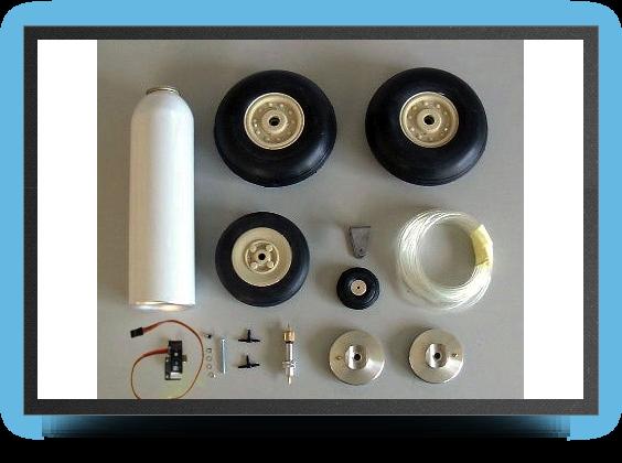 Jets - Roues + systÈme de freins avec Électro valve - Roues + systÈme de freins avec Électro valve - Aviation Design