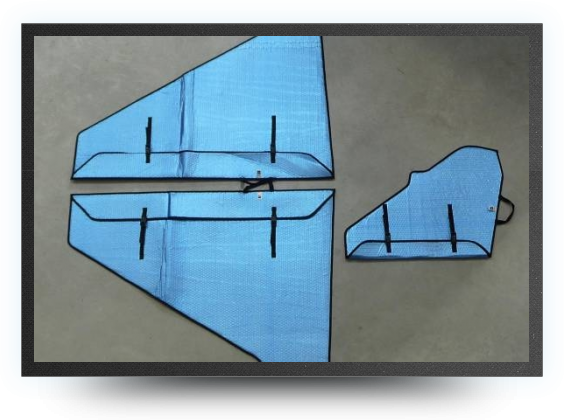 Jets - Housse de protection voilures et dÉrives - Housse de protection voilures et dÉrives - Aviation Design