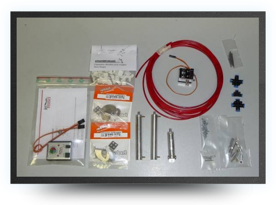 Jets - Kit trappes de train avec electro valve - Kit trappes de train avec electro valve - Aviation Design