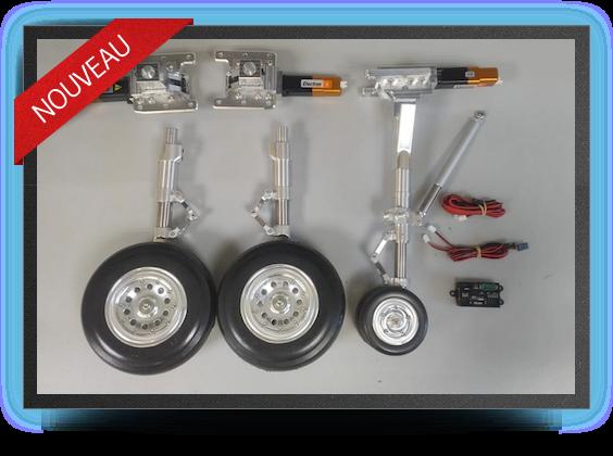 Jets - Train rentrant + freins electriques - Train rentrant + freins electriques - Aviation Design