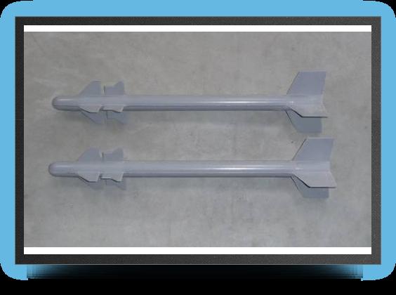 Jets - 2 missiles magic bout d'aile - 2 missiles magic bout d'aile - Aviation Design