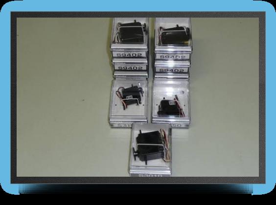 Jets - Pack servos Futaba comprenant 4 servos Futaba BLS152 + 1 x S9156 + 2 x S9402 - Pack servos Futaba comprenant 4 servos Futaba BLS152 + 1 x S9156 + 2 x S9402 - Aviation Design