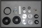 ADJ 815E - Roues + systÈme de freins avec Électro valve