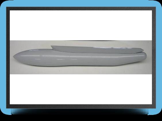 Jets - 2 réservoirs sous voilure convoyage (grosse taille) + rails - 2 réservoirs sous voilure convoyage (grosse taille) + rails - Aviation Design