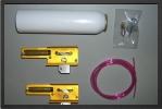 SA 403S : Train Spring Air GM 2 Jambes 90° + 2 Raccords Rapides - Jets radio-commandés - Aviation Design