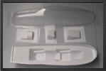 ADJ 604 - Verrière transparente + bacquet ABS