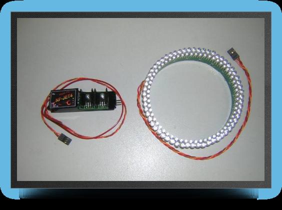 Jets - Anneau LED Post Combustion Système livré complet - Anneau LED Post Combustion Système livré complet - Aviation Design