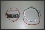 ADJ 145 : Anneau LED Post Combustion.<br />Système Livré Complet Avec : 1 Rangée De LED Jaune 3 mm, Contrôleur, Effet Proportionnel Scintillant. D.ext 92 mm  D.int 85 mm - Jets radio-commandés - Aviation Design