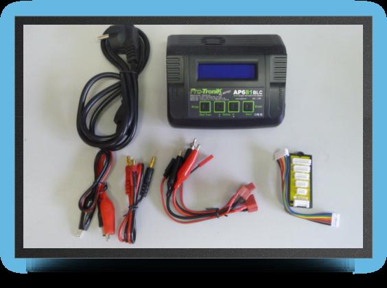 Jets - Chargeur batterie lipo - Chargeur batterie lipo - Aviation Design