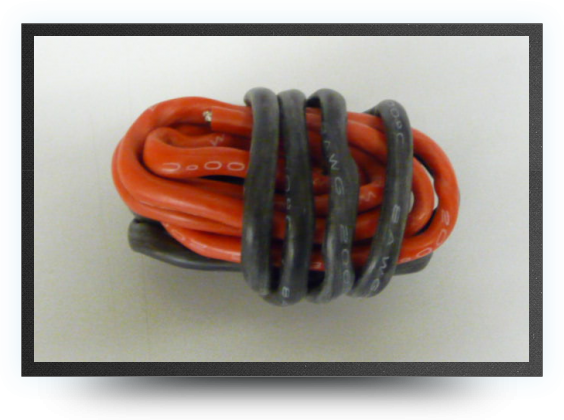 Jets - Fil silicone awg8, 6.03mm² noir+rouge, 1+1 m - Fil silicone awg8, 6.03mm² noir+rouge, 1+1 m - Aviation Design