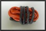 ACC 17080 : Fil Silicone Awg8, 6.03mm² Noir+rouge, 1+1 M - Jets radio-commandés - Aviation Design