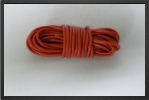 ACC 17161 : Fil Silicone Awg16, 1.32 mm² Rouge, 5 M - Jets radio-commandés - Aviation Design