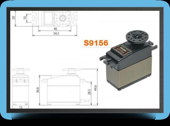 Jets - Servo s 9156 24.5 kg.cm - Servo s 9156 24.5 kg.cm - Aviation Design