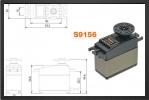FUT S9156 : Servo S 9156 24.5 Kg.cm - Jets radio-commandés - Aviation Design