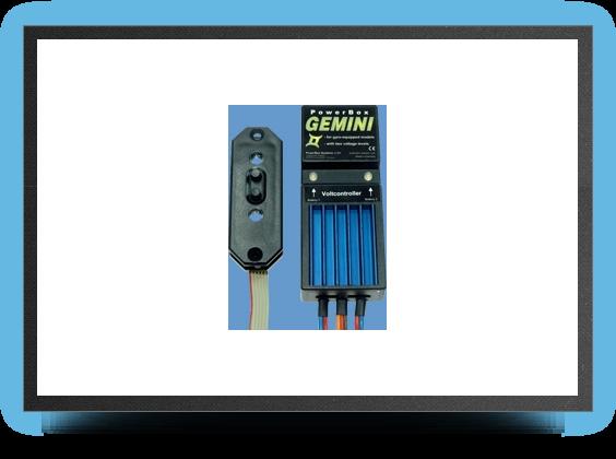 Jets - Powerbox gemini ii - Powerbox gemini ii - Aviation Design