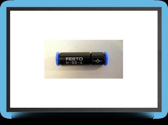 Jets - Clapet anti retour pour tuyau Festo diamètre 6 mm x 4 mm - Clapet anti retour pour tuyau Festo diamètre 6 mm x 4 mm - Aviation Design