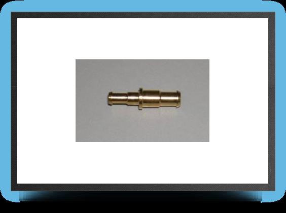 Jets - Raccord rÉducteur laiton pour durite 8mm x 6mm À 6mm x 4mm - Raccord rÉducteur laiton pour durite 8mm x 6mm À 6mm x 4mm - Aviation Design