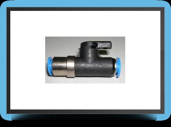 Jets - Robinet À boisseau pour tuyau 6x4mm pour remplissage kÉrosÈne - Robinet À boisseau pour tuyau 6x4mm pour remplissage kÉrosÈne - Aviation Design