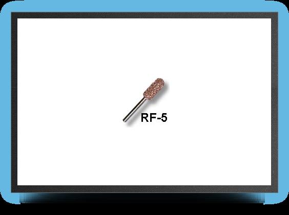 Jets - Fraise cylindrique bout rond 7mm arbre 3mm, gros grains - Fraise cylindrique bout rond 7mm arbre 3mm, gros grains - Aviation Design