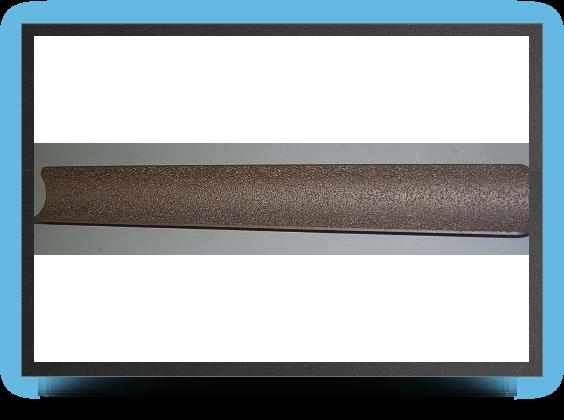 Jets - Lime de ponÇage creuse 230 x 38mm et 32mm de rayon, gros grains - Lime de ponÇage creuse 230 x 38mm et 32mm de rayon, gros grains - Aviation Design