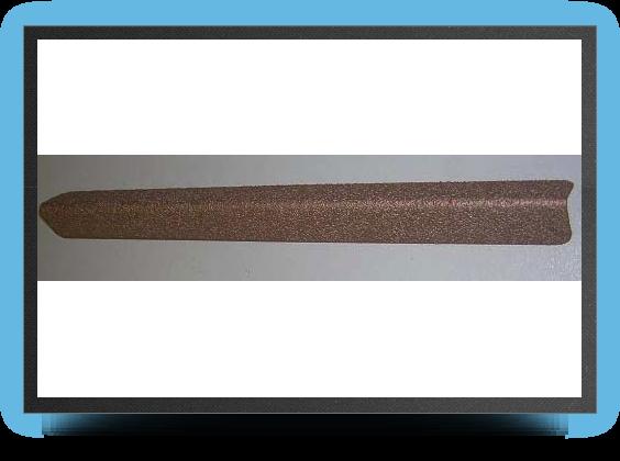 Jets - Lime de ponÇage triangulaire 230mm x 38mm, angle 70°, grains fins - Lime de ponÇage triangulaire 230mm x 38mm, angle 70°, grains fins - Aviation Design