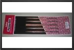 LNF-1 : Cinq Limes Aiguilles Larges Aux Formes Incontournables : Plate, CarrÉe, Ronde, Triangulaire Et Demi Ronde.<br />(longueur Totale 18 Cm) - Jets radio-commandés - Aviation Design