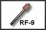 RF10F : Fraise CÔne À 90° Arbre 3mm, DiamÈtre 10mm - Jets radio-commandés - Aviation Design