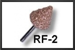 RF2C : Fraise Conique Large 16 mm Arbre 3 mm, Gros Grains - Jets radio-commandés - Aviation Design