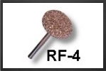 RF4C : Fraise Plate 20 mm Arbre 3 mm, Gros Grains - Jets radio-commandés - Aviation Design