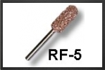 RF5F : Fraise Cylindrique Bout Rond 7 mm Arbre 3 mm - Jets radio-commandés - Aviation Design