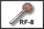 RF8C : Fraise Boule 10mm Arbre 3mm, Gros Grains - Jets radio-commandés - Aviation Design