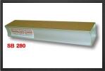 SB 280 : Cale De PonÇage<br />gros Grain Sur Une Face Et Fin Sur L\'autre<br />longueur 280mm x 51mm - Jets radio-commandés - Aviation Design