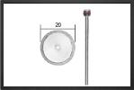 PX 28840 : Disque Diamanté à Tronçonner - Jets radio-commandés - Aviation Design