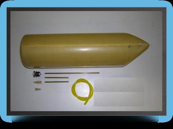Jets - Réservoir kevlar 3.2 litres (sans accessoires) - Réservoir kevlar 3.2 litres (sans accessoires) - Aviation Design