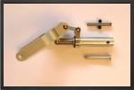 BO NL145L : Jambe Tirée<br />Longueur : 145 mm<br />Diamètre De Jambe : 15 mm<br />Pin De Connexion Sur Train : 6 mm<br />Axe De Roue : 6 mm<br />Pour Roue De 90 mm MaxiPeut être Utilisé Sur Train C36 Et C36-2 - Jets radio-commandés - Aviation Design