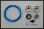 BO C3 : Jantes Aluminium Et Freins.<br />jantes Mont&#201;es Sur Roulement &#192; Bille, Axe De 6&#160;mm.<br />con&#199;u Pour Des Pneus De 65 &#192; 70&#160;mm De Diam&#200;tre - Jets radio-command&#233;s - Aviation Design