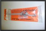 ROB 661L : Jambe De Train Suspendue. Jambe Courbe Gauche Longueur : 220mm DiamÈtre : 11.1mm Pour Roue De 70 À 76mm - Jets radio-commandés - Aviation Design