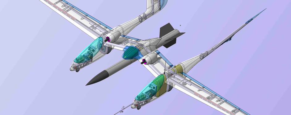 Eole designed with Catia software - Jets RC - Aviation Design