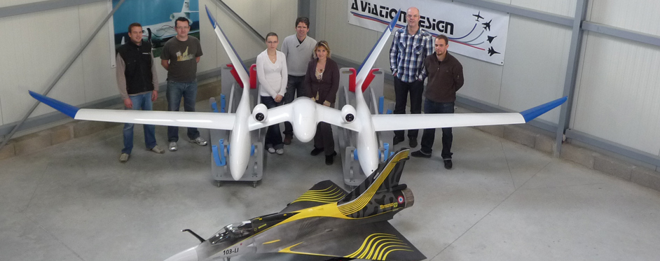 Eole UAV and Aviation Design's team - Jets RC - Aviation Design